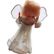 Beautiful Vintage Electric Light Christmas Angel Tree Topper