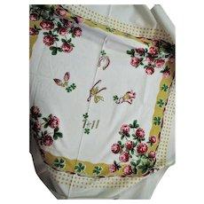 Vintage Silkscreen Good Luck Towel
