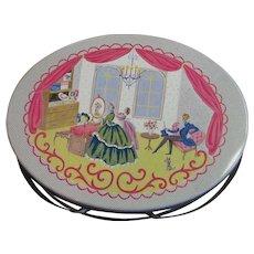 Wonderful Vintage Picnic/Lunch Box Litho Tin