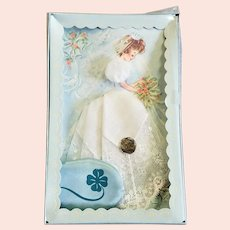 1950's Bridal Hankie & Something Blue