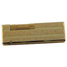 Vintage Gold Plated Colibri Made In Japan Cigarette Lighter
