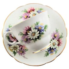 Daisy Crownford Fine China Cup & Saucer