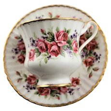 Paragon Roses Fine China English Cup & Saucer