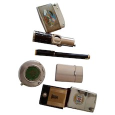 Variety Of Vintage Collectible Lighters