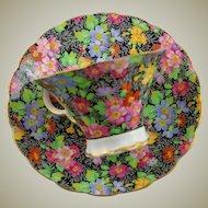 Adderley Fine Bone China Chintz Pattern Cup & Saucer