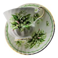Lily Of The Valley Bone China Cup & Saucer