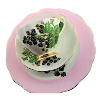 Queen Ann Bone China Three Piece Cup & Saucer