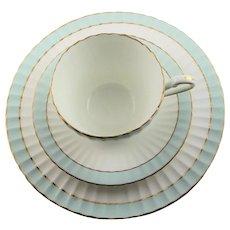 Paragon China, Bone China Dessert Plate, Cup & Saucer