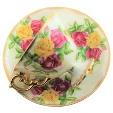 June Birthday Luster Ware Cup & Saucer