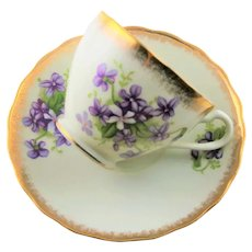 Japanese China Cup & Saucer