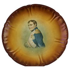 Antique Bonn Portrait Napoleon Plate
