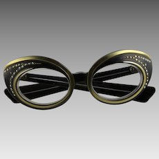 Fabulous Butterfly Eyeglass Frames From 1960's