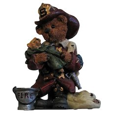 Vintage Boyds Bears & Friends 'Elliot the Hero'