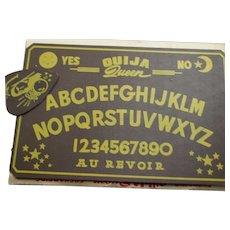 Vintage Ouija Queen Board Game