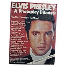 Vintage Elvis Presley Life Collector Magazine