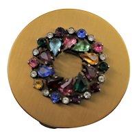 Fancy Jeweled Eisenberg Original Compact