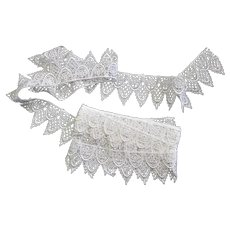 2 1/2 Yards Sewing Lace White Trim