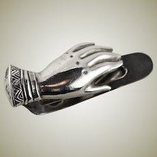 Vintage Tiffany & Co. Sterling Silver Glove Clip