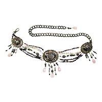 Amazing Maya Semi Precious Gems & Chain Belt