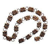 Copper Butterfly Vintage Chain Belt