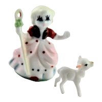 """Mary Had A Little Lamb"" Japanese Miniature"