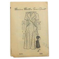 1940's Fashion Dress Pattern