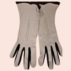 Fine Two Tone Max Mayer's Gloves