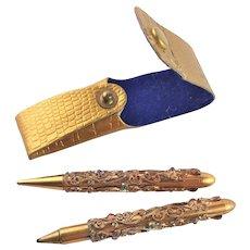 Fancy Writing Instruments In Case