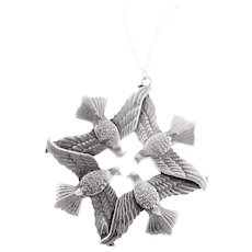 Wallace 1971 Peace Dove Sterling Ornament/Necklace
