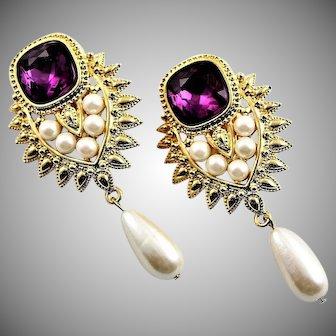 Famous Elizabeth Taylor Shaill Jhaveri Earrings