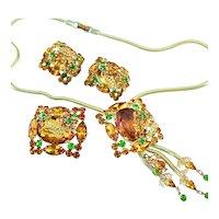 Spectacular Juliana Dimensional Gold Leaf Set