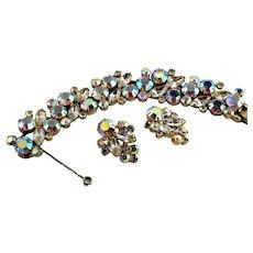 Glitzy Juliana Bracelet & Earring Set