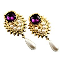 Elizabeth Taylor Shaill Jhaveri Designed Earrings
