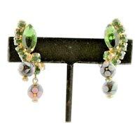 Juliana Polka Dotted Stone Earrings