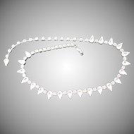 Grand Kramer NY Clear Rhinestone Necklace