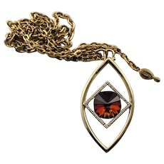 New Vintage Sara Coventry Pendent Necklac