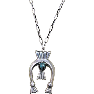 Native American Vintage Naja Pendant Necklace