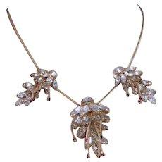 Vintage Never Worn Hattie Carnegie Necklace & Earrings