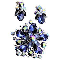 Marked By Design Beaujewels Brooch & Earrings Set
