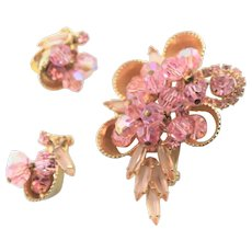Fabulous Juliana Pink Rhinestone Set