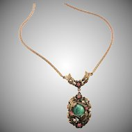 Lovely Etruscan Revival Style Necklace