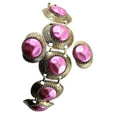 Spectacular Never Used 1950's Bracelet Set