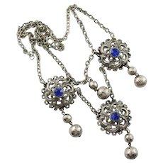 Renaissance Revival Set W/Necklace & Bracelet