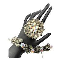 Outstanding Juliana Bracelet & Brooch Set