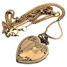 Beautiful Antique Gold Locket