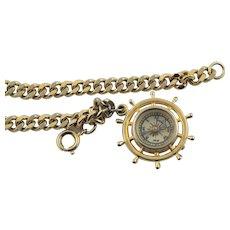 Grand Compass Charm Bracelet