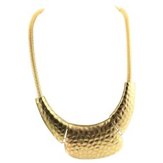 Gold Plated Bold Necklace