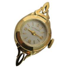 Mid Centurary 14K Gold Wittnauer Watch