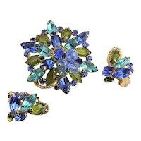 Spectacular Juliana Blue & Green Set