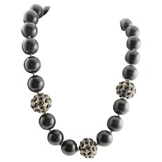 Superior Quality Black KJL Necklace